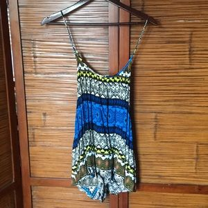 Neon Tribal Tank by Old Navy XXL